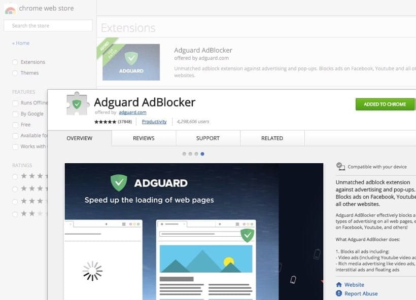 AdGuard Browser Extension