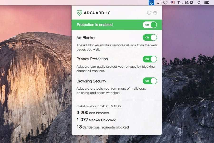 AdGuard for Mac OS