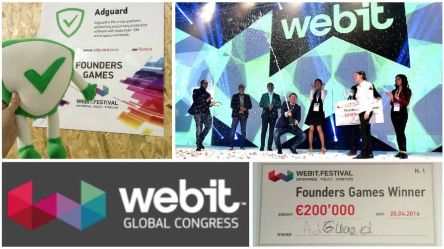 AdGuard no Webit