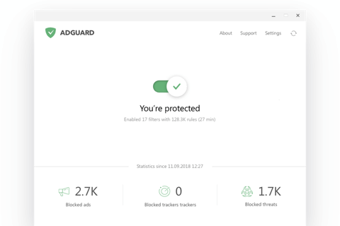 Ad blocker for Mac by AdGuard: remove all kinds of ads